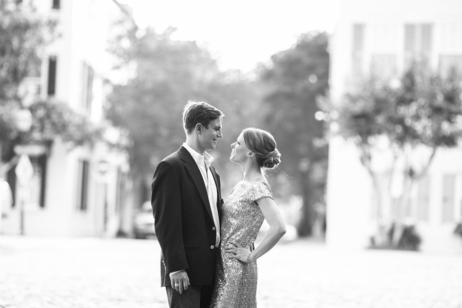 downtown charleston engagement photos