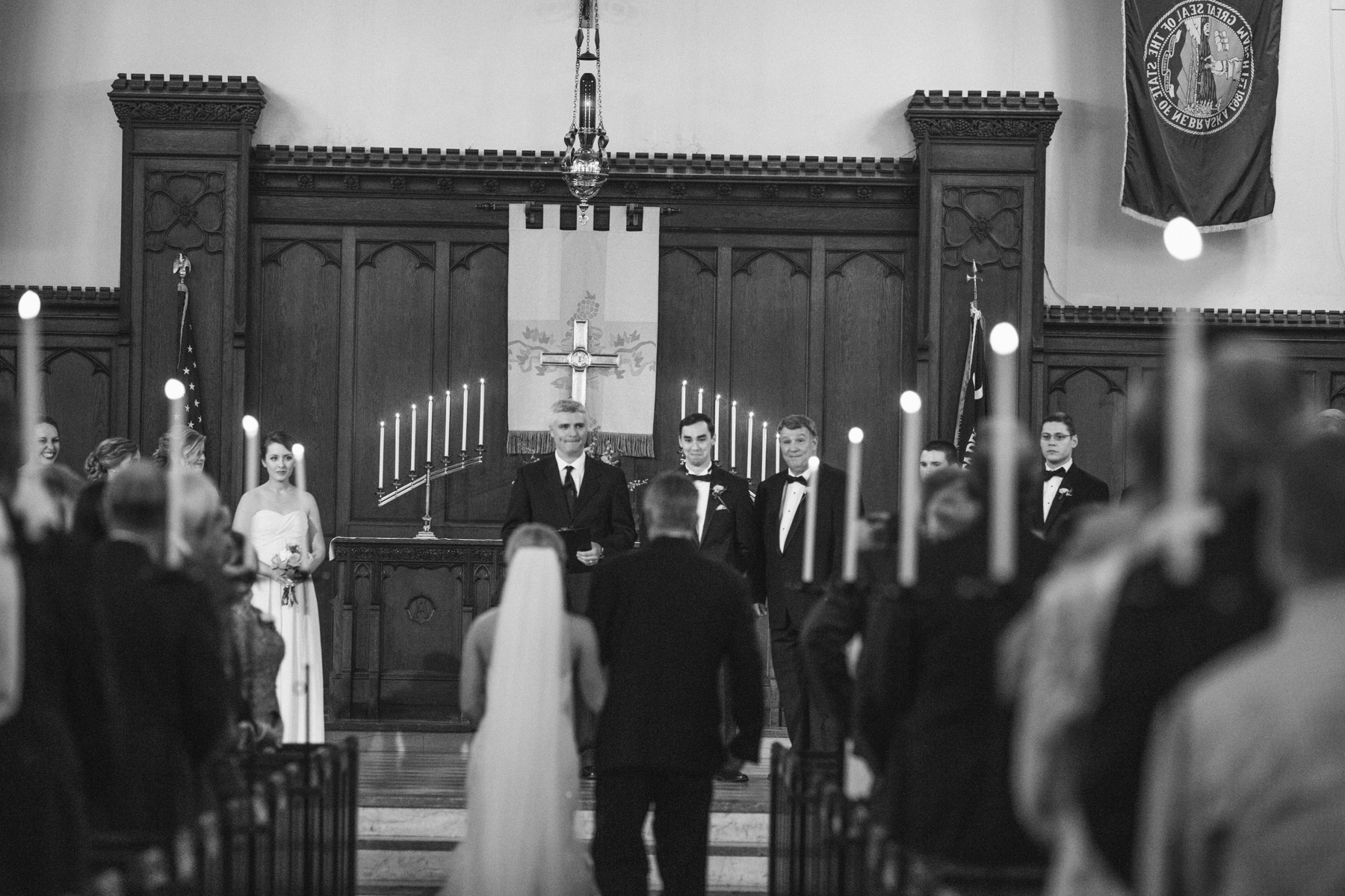 Citadel sword arch wedding